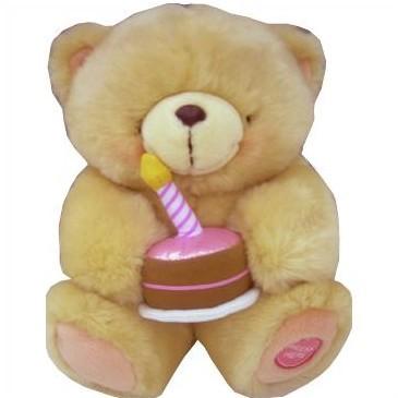 Озвученная игрушка «Мишка с тортом»