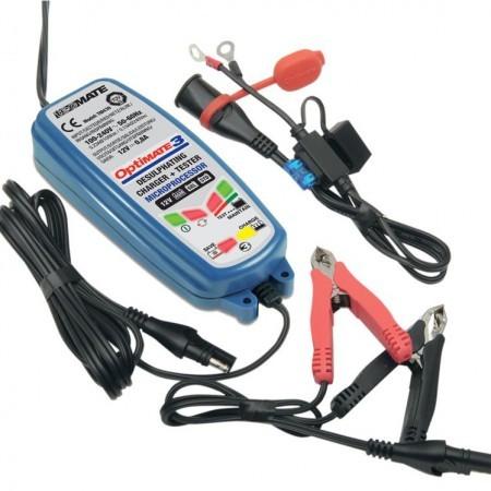 Зарядное устройство OptiMate 3 TM430 (1x0,8А, 12V)