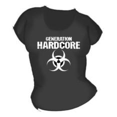 Женская футболка Hardcore