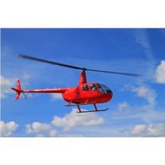 20 минут полета на вертолете Robinson R44