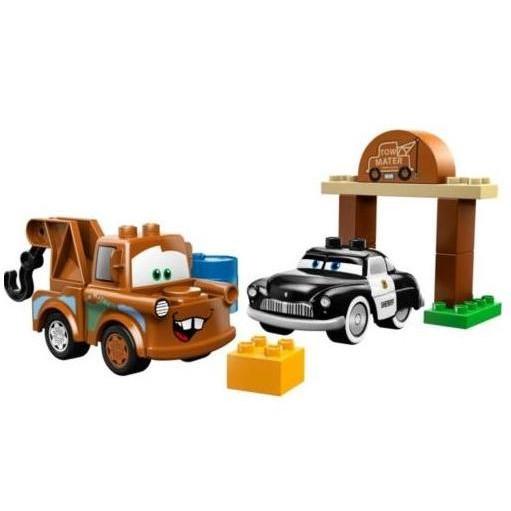 Lego Duplo «Тачки — автомобильная свалка Мэтра»