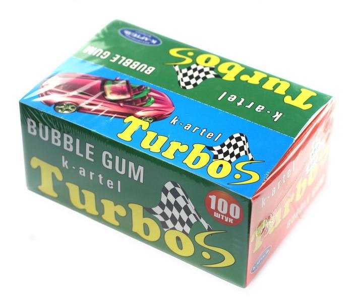 Жевательная резинка Turbo (турбо) 100 шт