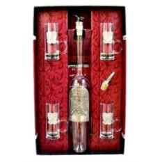 Подарочный набор для водки на 4 персоны Герб охотников