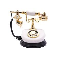 Белый телефон Ретро