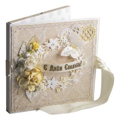 Свадебная видеооткрытка Цветы 15х15