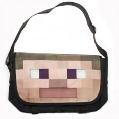 Наплечная сумка с лицом Стива Minecraft