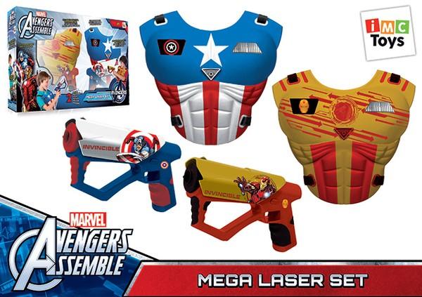 Набор оружия Мстители с 2 жилетами со звуком (IMC Toys)