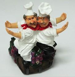 Подставка для вина «Два повара обнимаются»