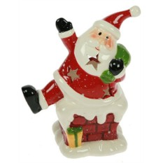 Новогодний подсвечник Дед Мороз