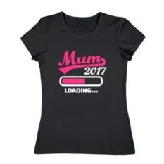 Женская футболка Mum 2017