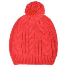 Красная шапка Irish с помпоном
