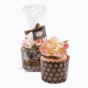 Полотенце «Кекс «Пион в розовой пудре»