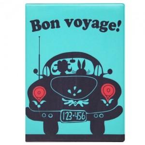 Обложка на автодокументы Bon Voyage!