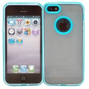 Чехол для iPhone 5 Kaster (голубой)