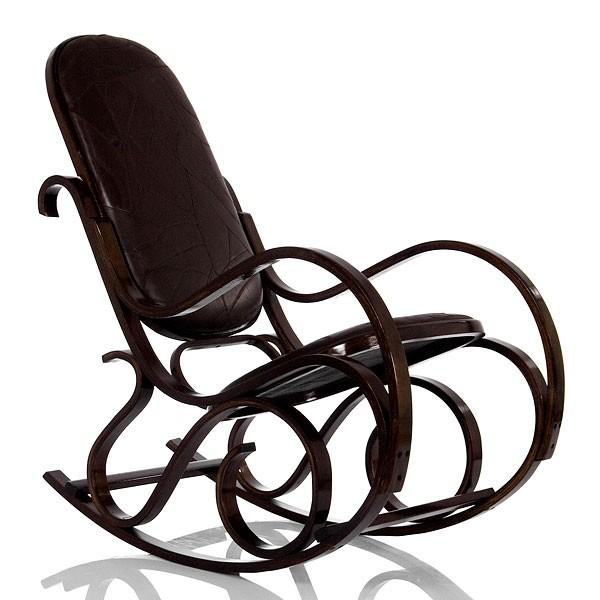 Кресло-качалка Формоза (кожа)