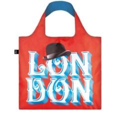 Складная сумка Loqi Alex Trochut London