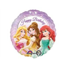 Фольгированный шар Принцессы на балу