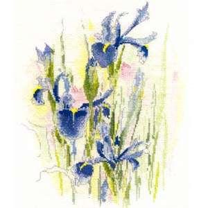 Набор для вышивания Irises