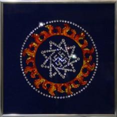 Картина с кристаллами Сваровски Оберег-Инглия