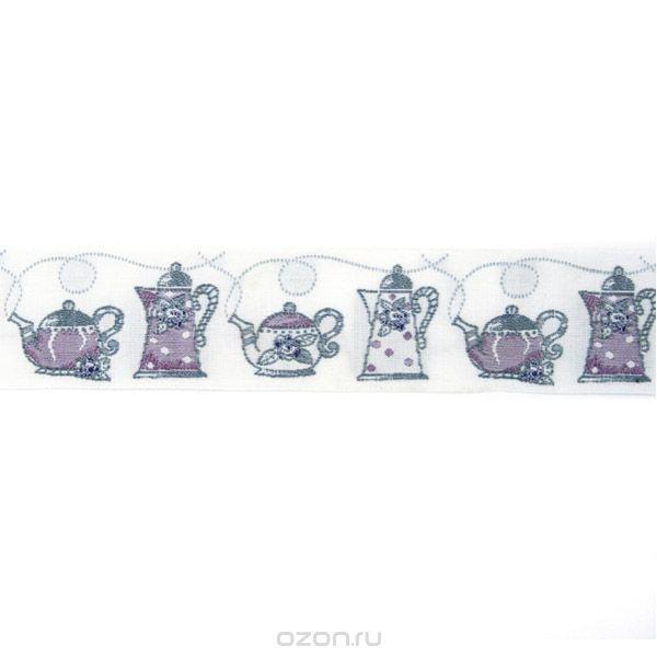 Тесьма декоративная Чайники