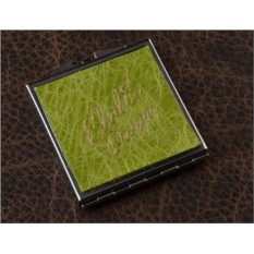 Карманное зеркальце, коллекция Elole Design (зеленый)