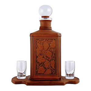 Бутыль «Виноградная лоза»