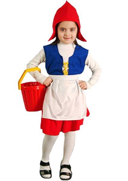 Карнавальный костюм Красная шапочка, 6-10 лет