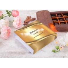 Конфеты ручной работы «Золотому человеку» (9 штук)