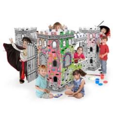 Детский картонный домик Крепость