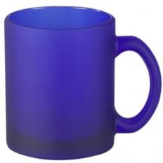 Матовая синяя кружка