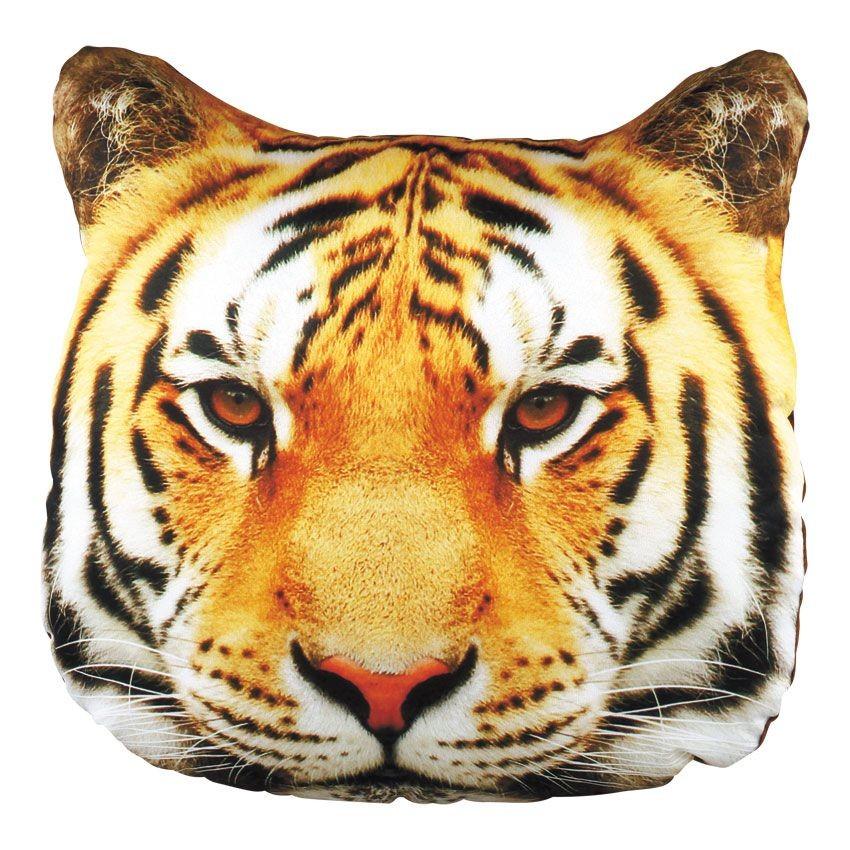 Фигурная подушка с фотопечатью Тигр