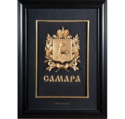 Герб Самары объемный