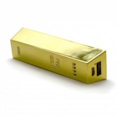 Портативный аккумулятор Слиток золота