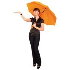 Оранжевый зонт-трость Unit Promo
