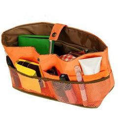 Органайзер на кнопке для женской сумки Midi, оранжевый