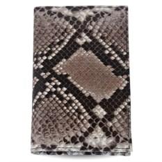 Обложка из кожи питона для паспорта и автодокументов