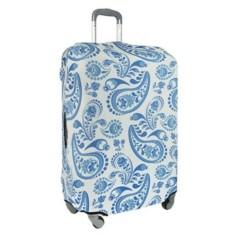 Большой чехол для чемодана Travel Gzhel