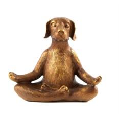 Интерьерное изделие Собака-медитатор