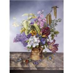 Пласт Букет садовых цветов