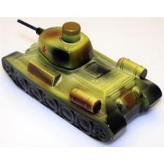 Штоф ручной работы Т-34 на 0,75 мл