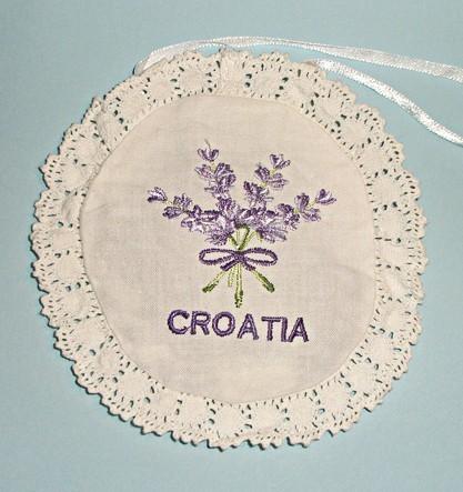 Кружевное саше Хорватия