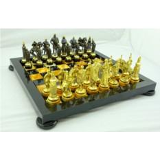 Шахматная доска из камня