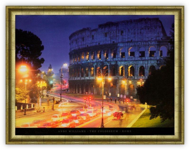 Постер Колизей, Рим (Энди Уильямс)