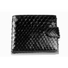 Лакированный кошелек из кожи питона