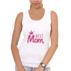 Женская майка Best Mom