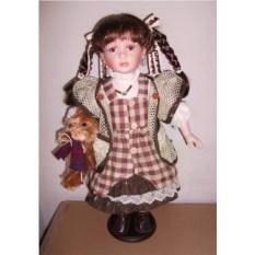 Фарфоровая кукла Роксана, высота 51 см