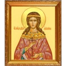 Икона на холсте Акилина младшая Святая мученица