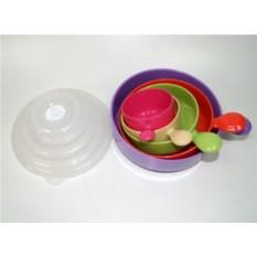 Пластиковые емкости для микроволновой печи Матрёшка