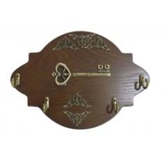 Деревянная ключница Ключ