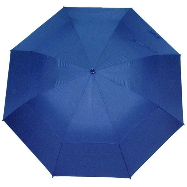 Синий двойной зонт